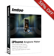 50% OFF for iPhone Ringtone Maker