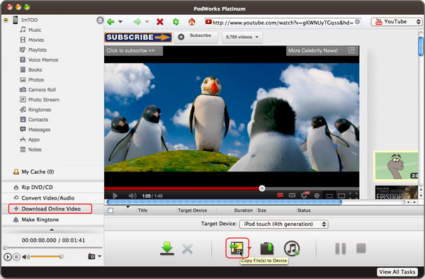 ImTOO PodWorks Platinum for Mac